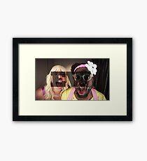 Jimmy Fallon/Will.i.am EW Framed Print
