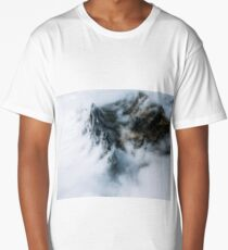 Sea of Clouds. And a Mountain - Landscape Photography Long T-Shirt