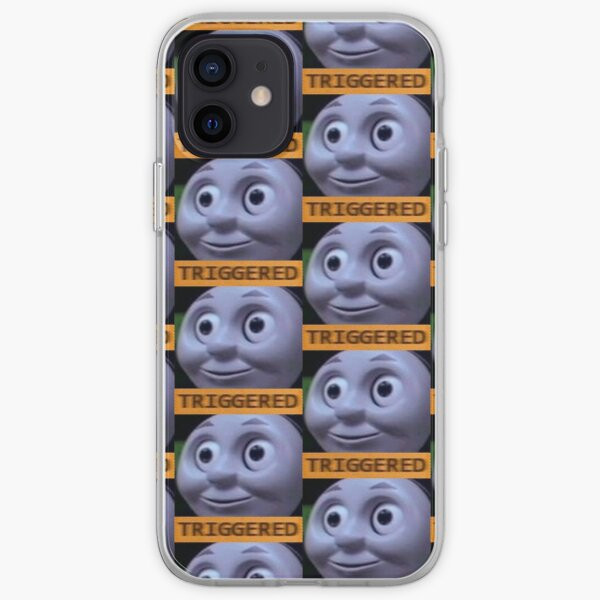Triggered Thomas The Train meme iPhone Soft Case
