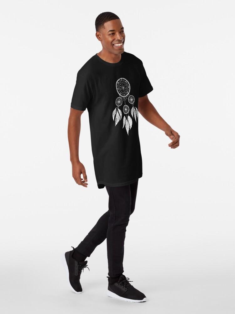 Vista alternativa de Camiseta larga Atrapasueños