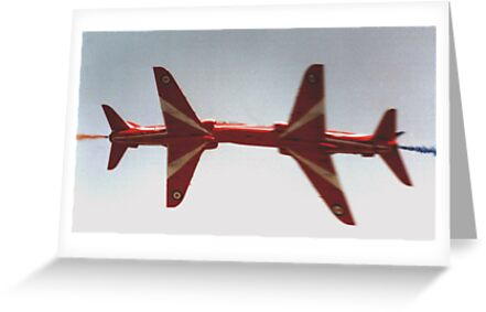 The Red Arrows - Close Pass by Colin  Williams Photography