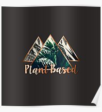 Plant Based Tropical Triangle Poster