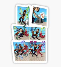 Vento Aureo Dance Sticker