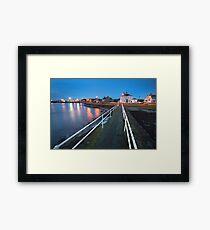 Larne  Harbour  County Antrim Northern Ireland Framed Print