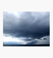 Storm Over Evian Photographic Print