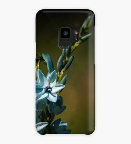 Blue Flowers really do Exist! Case/Skin for Samsung Galaxy