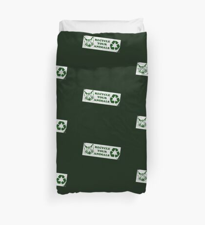 Recycle your Animals - Fight Club Duvet Cover