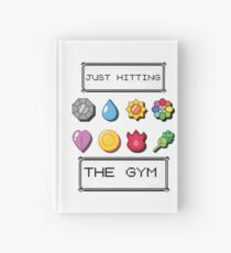 Pokemon hitting the gym Hardcover Journal