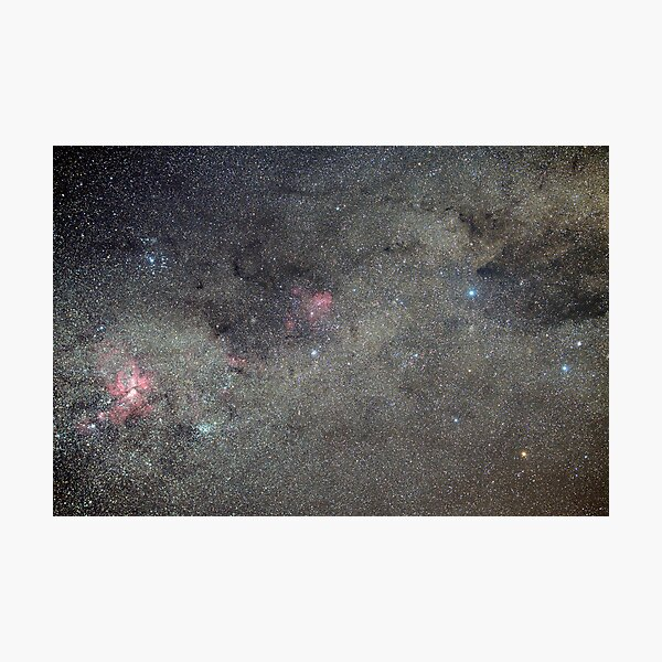 Milky Way in Crux and Carina Photographic Print