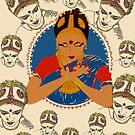 'BHAVAM' - EXPRESSION (Pattern)  by Aarathi Somarajan