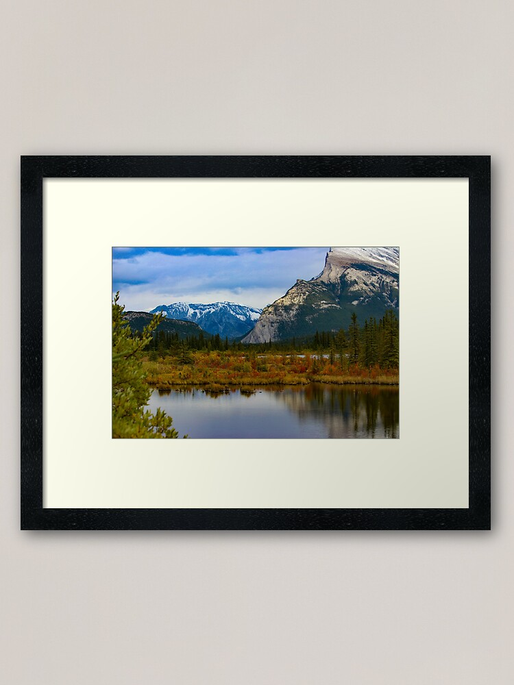 Alternate view of Vermilion Lake Framed Art Print