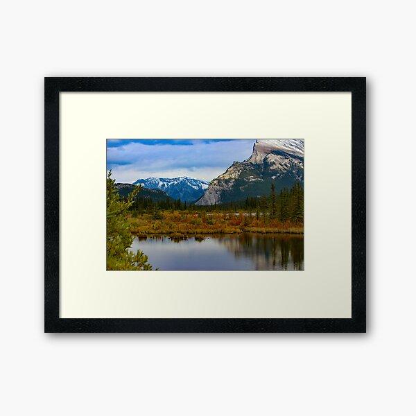 Vermilion Lake Framed Art Print