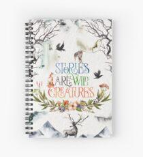 Stories Spiral Notebook