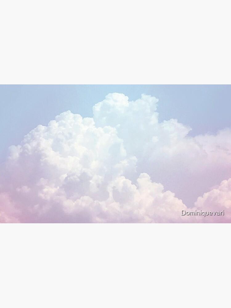 Dreamy Baumwolle Blue Sky von Dominiquevari