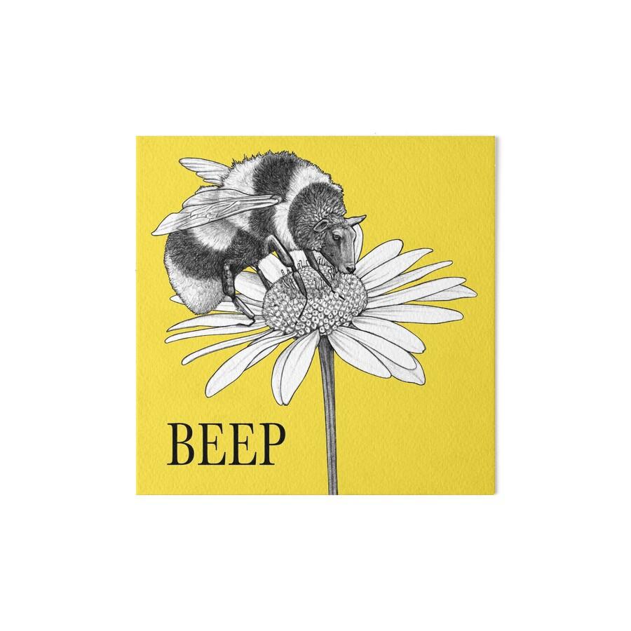 Beep, Bumble Bee + Sheep Hybrid Animal\
