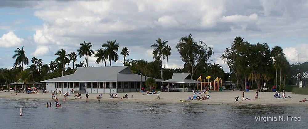 Cape Coral Yatch Club by Virginia N. Fred