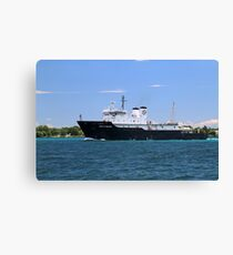 State of Michigan Training Vessel Canvas Print