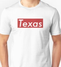 Supremely Texas (Red) Unisex T-Shirt