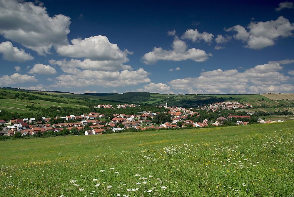My home town Strani 2, Czech Republic by ludek