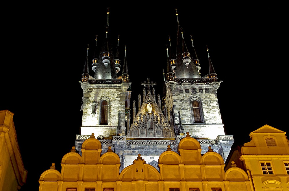 Church of Our Lady before Tyn, Prague by ludek