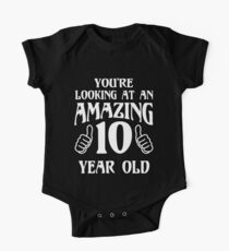 Birthday 10 year old Boy Girl Gift Kids Clothes