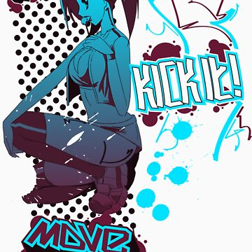 Move, Kick it! by dojoartworks