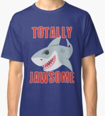 Lustiger Haifisch total Jawsome Classic T-Shirt