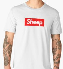 Sheep Squad (Supreme Parody) Men's Premium T-Shirt