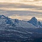 Tombstone Valley and Mountains in early October by Yukondick