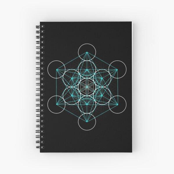 Merkaba Flower of Life Spiral Notebook