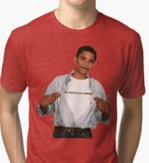 Young Barack Obama  Tri-blend T-Shirt