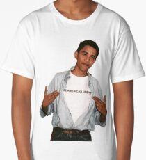 Young Barack Obama  Long T-Shirt
