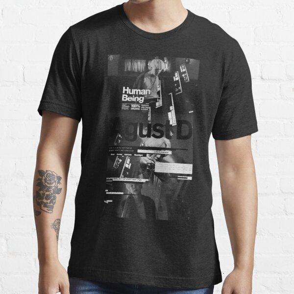 Agust D black Essential T-Shirt