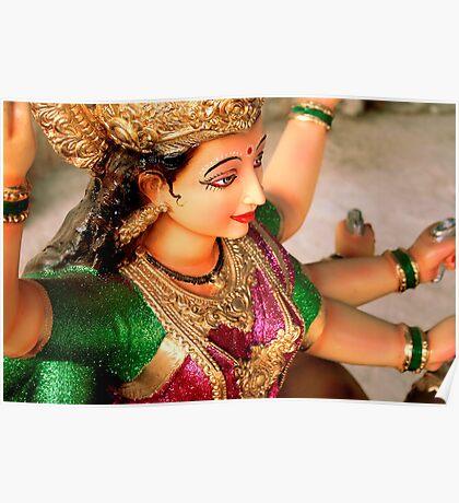 The Goddess of Power - Durga Poster