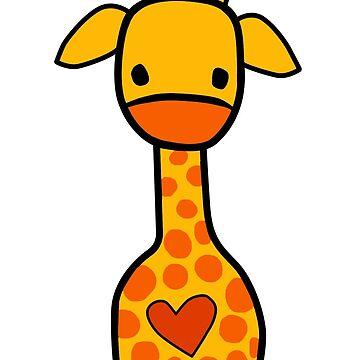 Nette Giraffe von miamulin57