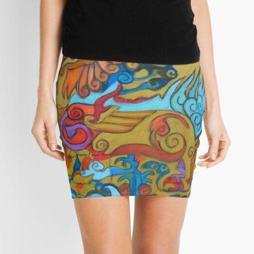Qilin Mini Skirt