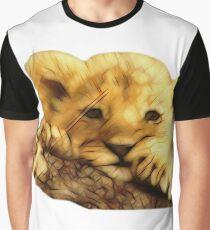 Lion Cub Graphic T-Shirt