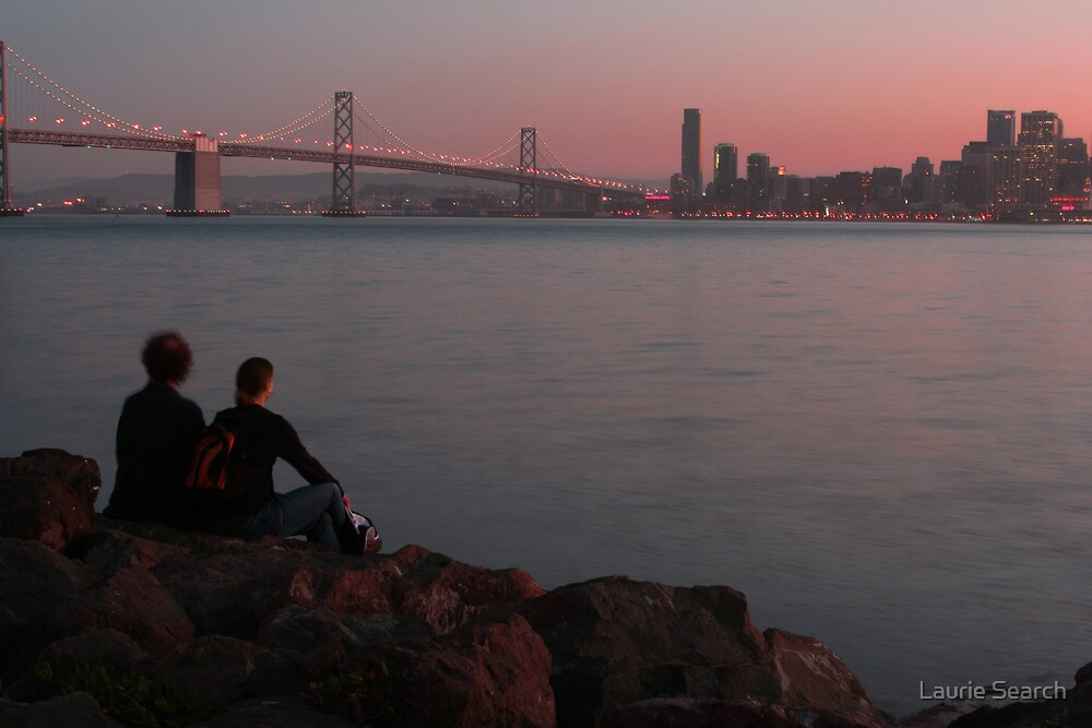 Companionship and Sunsets by Laurie Search
