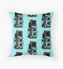 Rolleiflex pattern 01 Throw Pillow