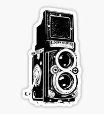 Rolleiflex pattern 01 Sticker