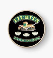 Lil Bits!!! - www.shirtdorks.com Clock