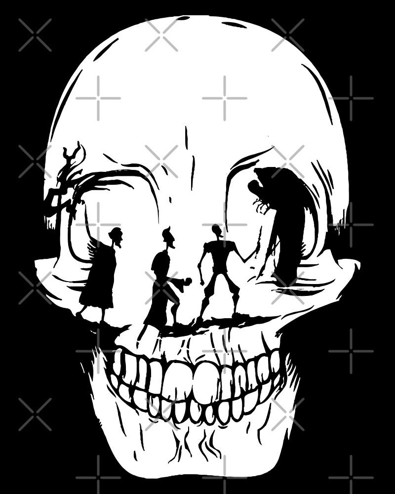 Geschichte von drei Brüdern Skull\
