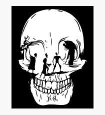 Tale of Three Brothers Skull Photographic Print