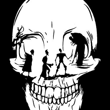 Tale of Three Brothers Skull by Batg1rl