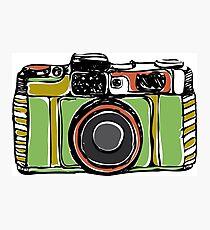 Vintage film camera  Photographic Print