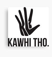 Kawhi Tho Canvas Print