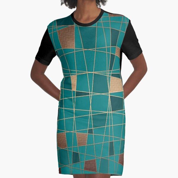 Abstract geometric pattern 11 Graphic T-Shirt Dress