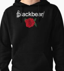 Blackbear Logo with Rose Pullover Hoodie