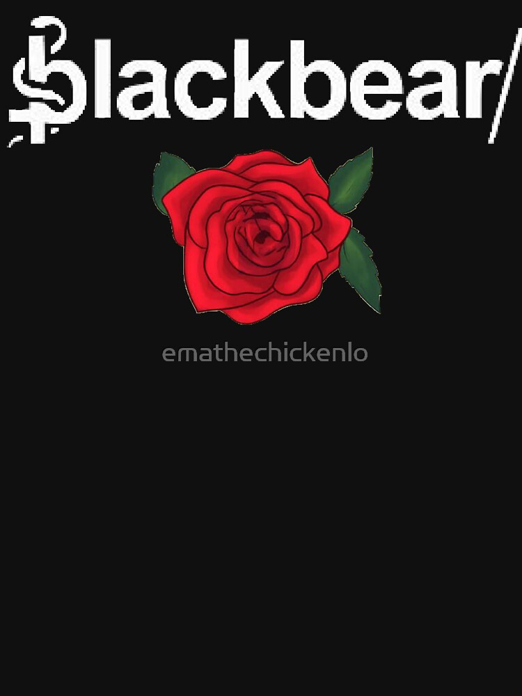 Blackbear Logo with Rose by emathechickenlo