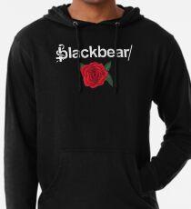 Sudadera con capucha ligera Logotipo de Blackbear con Rose